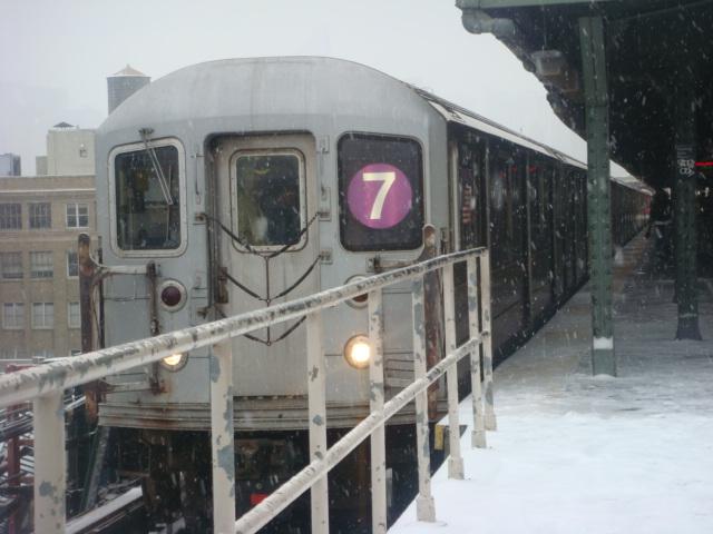 (108k, 640x480)<br><b>Country:</b> United States<br><b>City:</b> New York<br><b>System:</b> New York City Transit<br><b>Line:</b> IRT Flushing Line<br><b>Location:</b> Queensborough Plaza <br><b>Route:</b> 7<br><b>Car:</b> R-62A (Bombardier, 1984-1987)   <br><b>Photo by:</b> Danny Molina<br><b>Date:</b> 2/13/2008<br><b>Viewed (this week/total):</b> 0 / 1454