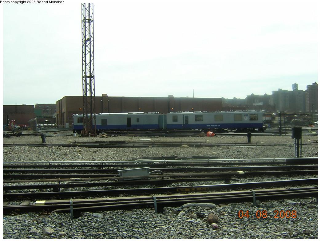 (255k, 1044x788)<br><b>Country:</b> United States<br><b>City:</b> New York<br><b>System:</b> New York City Transit<br><b>Location:</b> Coney Island Yard<br><b>Car:</b> Track Geometry Car TGC4 <br><b>Photo by:</b> Robert Mencher<br><b>Date:</b> 4/8/2008<br><b>Viewed (this week/total):</b> 0 / 1145