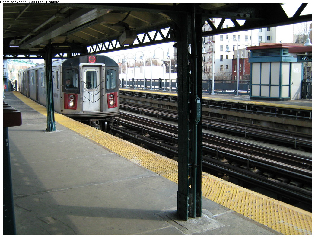 (264k, 1044x788)<br><b>Country:</b> United States<br><b>City:</b> New York<br><b>System:</b> New York City Transit<br><b>Line:</b> IRT White Plains Road Line<br><b>Location:</b> Freeman Street <br><b>Route:</b> 2<br><b>Car:</b> R-142 (Primary Order, Bombardier, 1999-2002)  6356 <br><b>Photo by:</b> Frank Raniere<br><b>Date:</b> 3/11/2008<br><b>Viewed (this week/total):</b> 2 / 2915