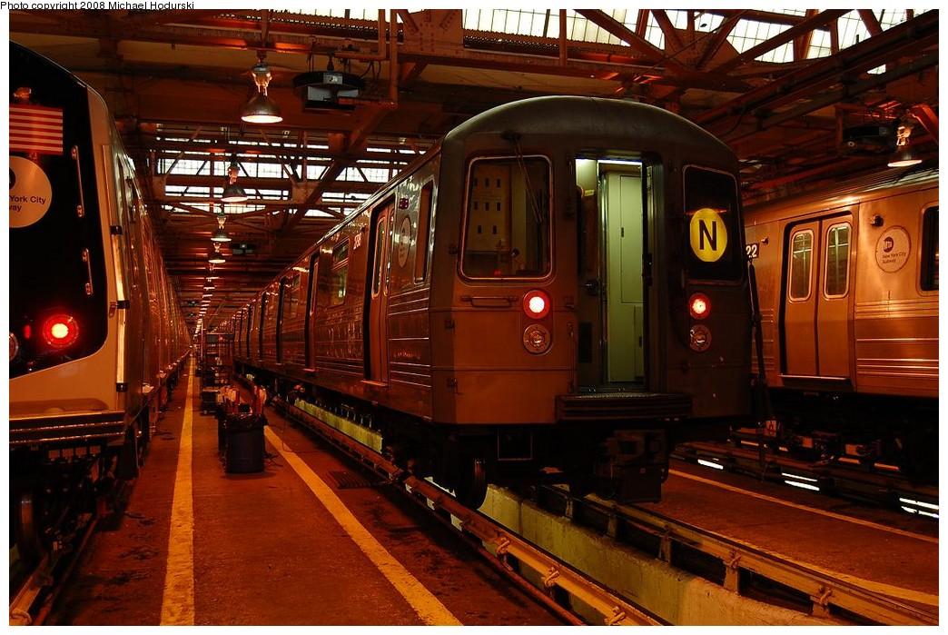 (250k, 1044x699)<br><b>Country:</b> United States<br><b>City:</b> New York<br><b>System:</b> New York City Transit<br><b>Location:</b> Coney Island Shop/Maint. & Inspection Shop<br><b>Car:</b> R-68 (Westinghouse-Amrail, 1986-1988)  2798 <br><b>Photo by:</b> Michael Hodurski<br><b>Date:</b> 4/12/2008<br><b>Viewed (this week/total):</b> 1 / 1597
