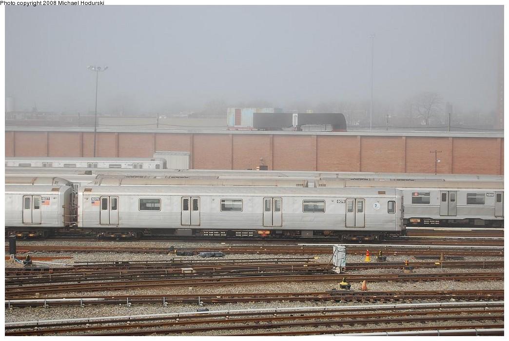 (223k, 1044x699)<br><b>Country:</b> United States<br><b>City:</b> New York<br><b>System:</b> New York City Transit<br><b>Location:</b> Coney Island Yard<br><b>Car:</b> R-46 (Pullman-Standard, 1974-75) 6076 <br><b>Photo by:</b> Michael Hodurski<br><b>Date:</b> 4/12/2008<br><b>Viewed (this week/total):</b> 0 / 1124