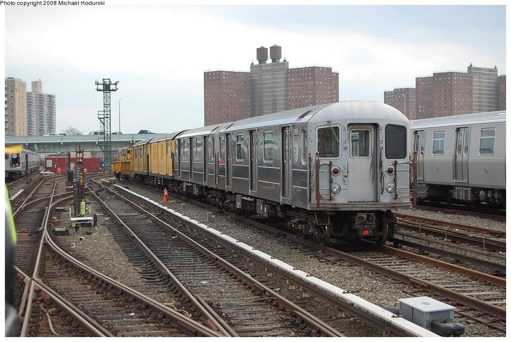 (266k, 1044x699)<br><b>Country:</b> United States<br><b>City:</b> New York<br><b>System:</b> New York City Transit<br><b>Location:</b> Coney Island Yard<br><b>Car:</b> R-62A (Bombardier, 1984-1987)  1958 <br><b>Photo by:</b> Michael Hodurski<br><b>Date:</b> 4/12/2008<br><b>Viewed (this week/total):</b> 0 / 1816