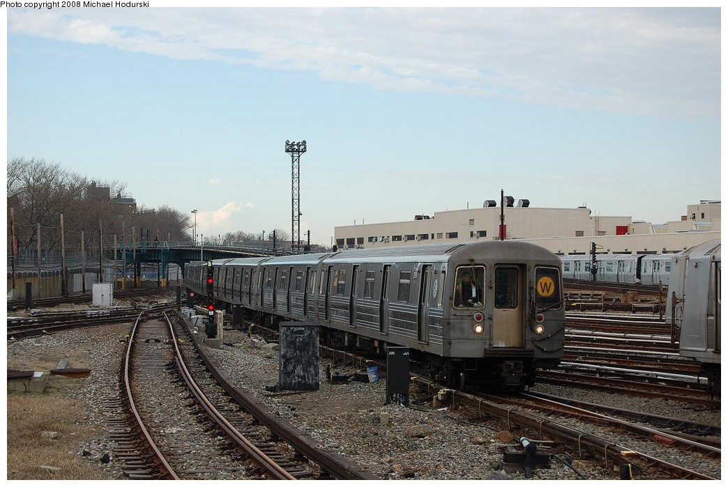 (238k, 1044x699)<br><b>Country:</b> United States<br><b>City:</b> New York<br><b>System:</b> New York City Transit<br><b>Location:</b> Coney Island Yard<br><b>Car:</b> R-68 (Westinghouse-Amrail, 1986-1988)  2896 <br><b>Photo by:</b> Michael Hodurski<br><b>Date:</b> 4/12/2008<br><b>Viewed (this week/total):</b> 0 / 1596