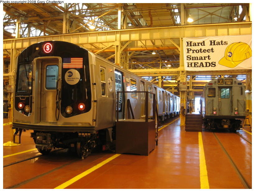 (168k, 820x620)<br><b>Country:</b> United States<br><b>City:</b> New York<br><b>System:</b> New York City Transit<br><b>Location:</b> Coney Island Shop/Overhaul & Repair Shop<br><b>Car:</b> R-160A-1 (Alstom, 2005-2008, 4 car sets)  8480 <br><b>Photo by:</b> Gary Chatterton<br><b>Date:</b> 4/12/2008<br><b>Viewed (this week/total):</b> 0 / 3425
