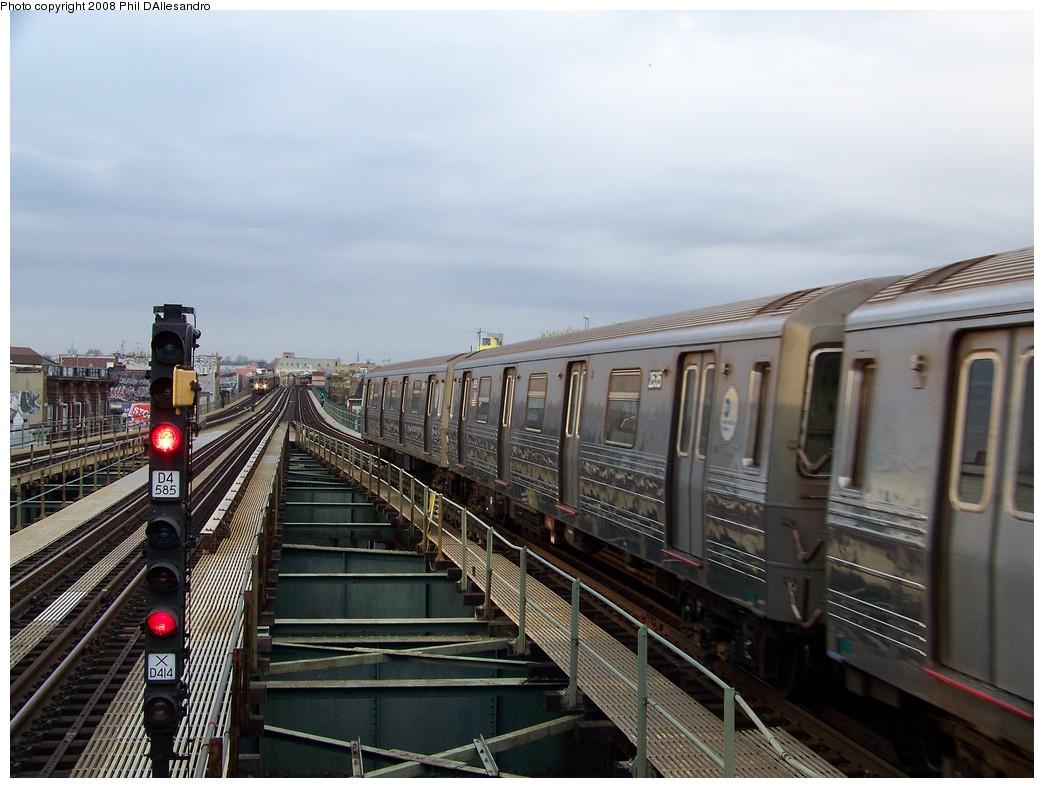 (207k, 1044x788)<br><b>Country:</b> United States<br><b>City:</b> New York<br><b>System:</b> New York City Transit<br><b>Line:</b> BMT West End Line<br><b>Location:</b> 62nd Street <br><b>Route:</b> D<br><b>Car:</b> R-68 (Westinghouse-Amrail, 1986-1988)  2535 <br><b>Photo by:</b> Philip D'Allesandro<br><b>Date:</b> 4/20/2008<br><b>Viewed (this week/total):</b> 1 / 1545