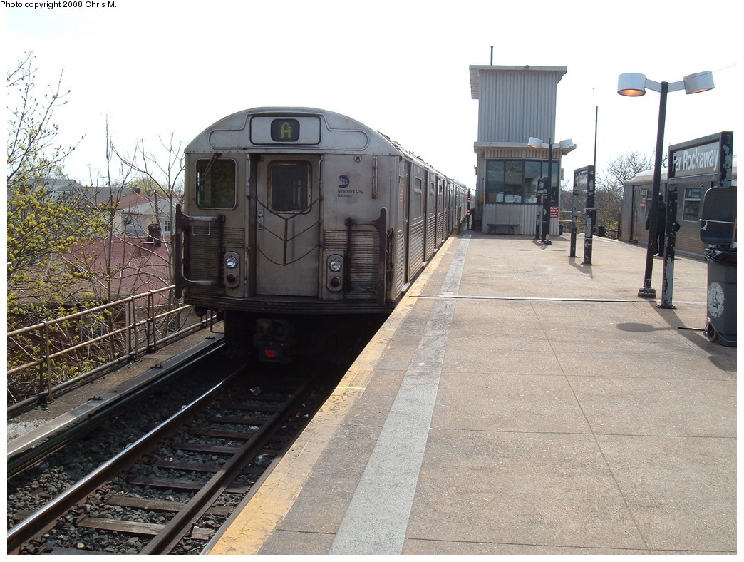 (258k, 1044x788)<br><b>Country:</b> United States<br><b>City:</b> New York<br><b>System:</b> New York City Transit<br><b>Line:</b> IND Rockaway<br><b>Location:</b> Mott Avenue/Far Rockaway <br><b>Route:</b> A<br><b>Car:</b> R-38 (St. Louis, 1966-1967)  4026 <br><b>Photo by:</b> Chris M.<br><b>Date:</b> 4/21/2008<br><b>Viewed (this week/total):</b> 0 / 1407