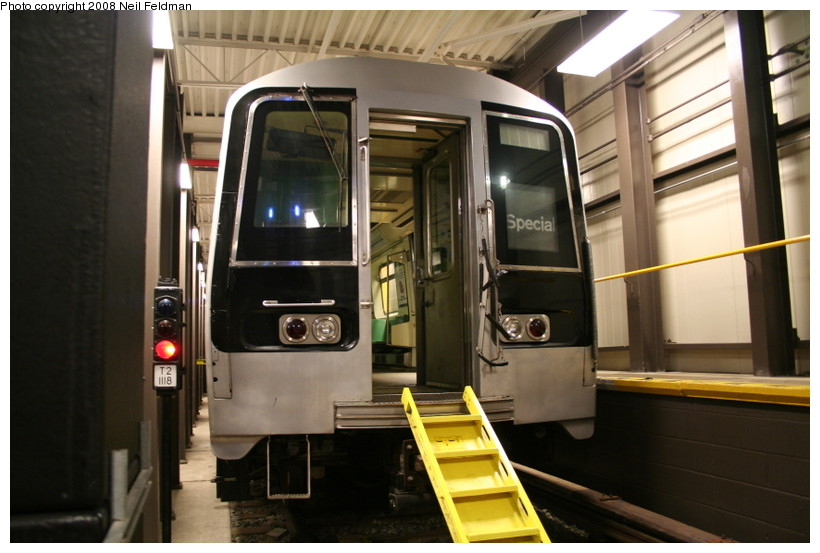(128k, 820x553)<br><b>Country:</b> United States<br><b>City:</b> New York<br><b>System:</b> New York City Transit<br><b>Location:</b> Coney Island Yard-Training Facilities<br><b>Car:</b> R-110B (Bombardier, 1992) 3006 <br><b>Photo by:</b> Neil Feldman<br><b>Date:</b> 4/12/2008<br><b>Notes:</b> Fire training facility.<br><b>Viewed (this week/total):</b> 2 / 3008