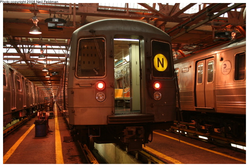 (162k, 820x553)<br><b>Country:</b> United States<br><b>City:</b> New York<br><b>System:</b> New York City Transit<br><b>Location:</b> Coney Island Shop/Overhaul & Repair Shop<br><b>Car:</b> R-68 (Westinghouse-Amrail, 1986-1988)  2798 <br><b>Photo by:</b> Neil Feldman<br><b>Date:</b> 4/12/2008<br><b>Viewed (this week/total):</b> 0 / 1172