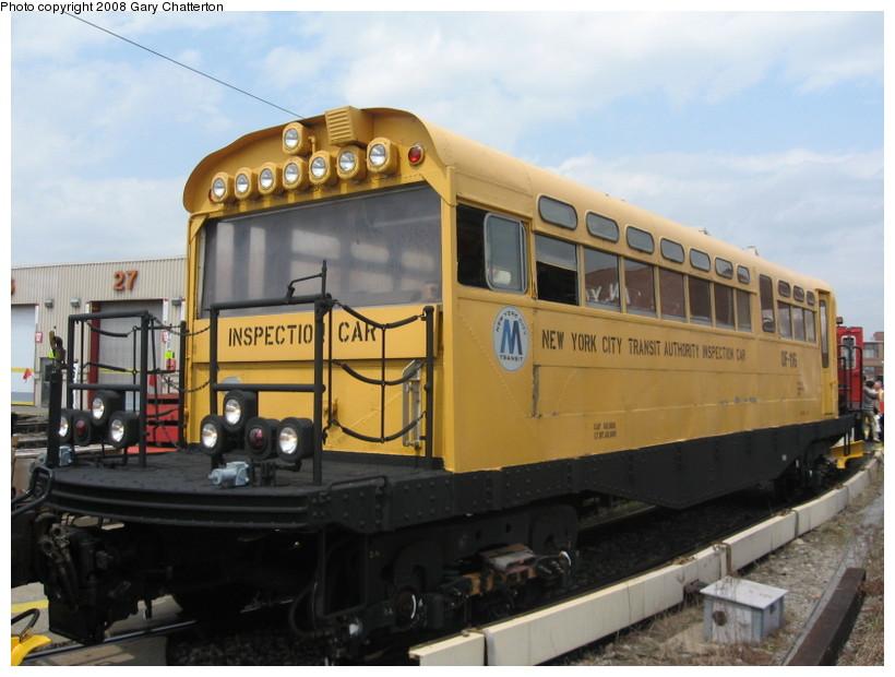 (122k, 820x620)<br><b>Country:</b> United States<br><b>City:</b> New York<br><b>System:</b> New York City Transit<br><b>Location:</b> Coney Island Yard<br><b>Car:</b> Observation Car 0F116 <br><b>Photo by:</b> Gary Chatterton<br><b>Date:</b> 4/12/2008<br><b>Viewed (this week/total):</b> 4 / 3662