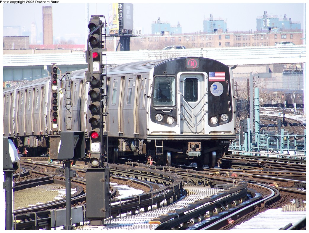 (322k, 1044x788)<br><b>Country:</b> United States<br><b>City:</b> New York<br><b>System:</b> New York City Transit<br><b>Location:</b> Coney Island/Stillwell Avenue<br><b>Route:</b> N<br><b>Car:</b> R-160B (Kawasaki, 2005-2008)  8742 <br><b>Photo by:</b> DeAndre Burrell<br><b>Date:</b> 4/12/2007<br><b>Viewed (this week/total):</b> 0 / 1442