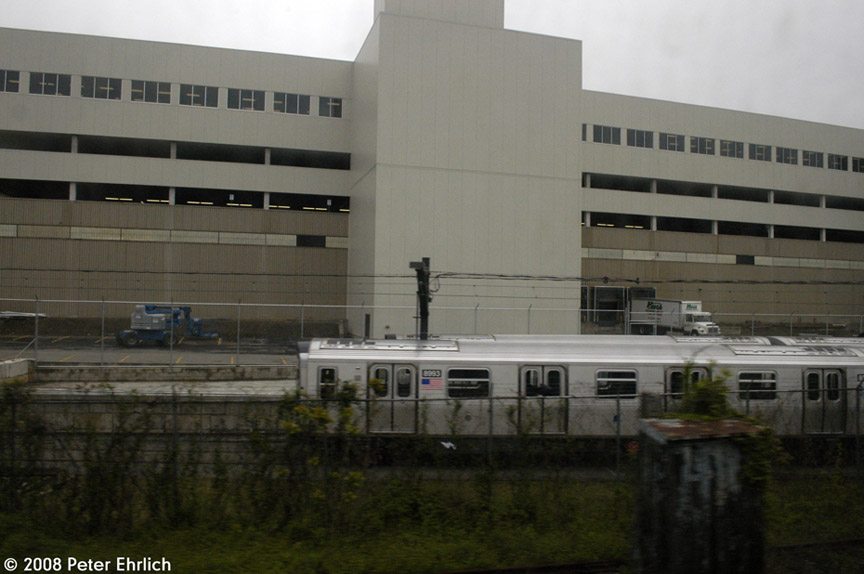 (144k, 864x574)<br><b>Country:</b> United States<br><b>City:</b> New York<br><b>System:</b> New York City Transit<br><b>Location:</b> Kawasaki Plant, Yonkers, NY<br><b>Car:</b> R-160B (Option 1) (Kawasaki, 2008-2009)  8983 <br><b>Photo by:</b> Peter Ehrlich<br><b>Date:</b> 5/2/2008<br><b>Viewed (this week/total):</b> 1 / 1299