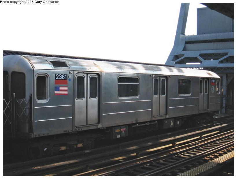 (98k, 820x620)<br><b>Country:</b> United States<br><b>City:</b> New York<br><b>System:</b> New York City Transit<br><b>Line:</b> IRT West Side Line<br><b>Location:</b> 225th Street <br><b>Route:</b> 1<br><b>Car:</b> R-62A (Bombardier, 1984-1987)  2361 <br><b>Photo by:</b> Gary Chatterton<br><b>Date:</b> 3/11/2008<br><b>Viewed (this week/total):</b> 0 / 1278