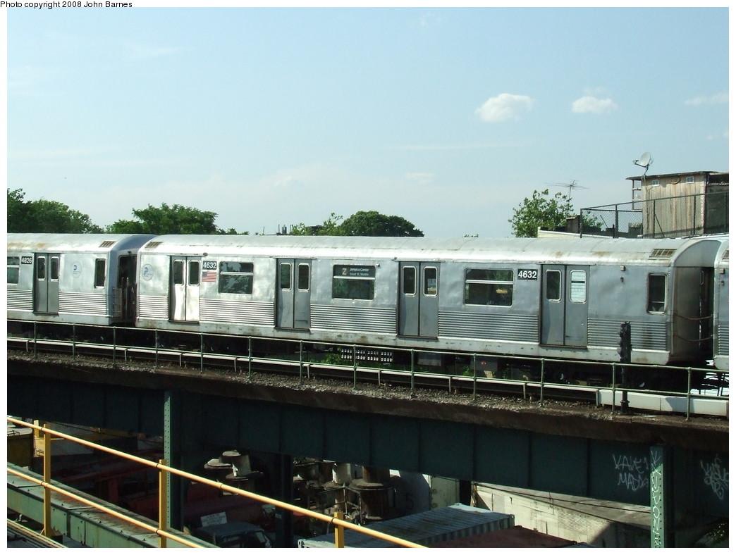 (198k, 1044x788)<br><b>Country:</b> United States<br><b>City:</b> New York<br><b>System:</b> New York City Transit<br><b>Location:</b> East New York Yard/Shops<br><b>Car:</b> R-42 (St. Louis, 1969-1970)  4632 <br><b>Photo by:</b> John Barnes<br><b>Date:</b> 6/21/2007<br><b>Viewed (this week/total):</b> 0 / 1218