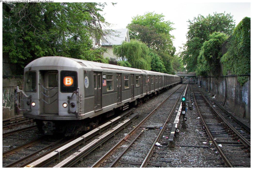 (369k, 1044x703)<br><b>Country:</b> United States<br><b>City:</b> New York<br><b>System:</b> New York City Transit<br><b>Line:</b> BMT Brighton Line<br><b>Location:</b> Newkirk Plaza (fmrly Newkirk Ave.) <br><b>Route:</b> B<br><b>Car:</b> R-40M (St. Louis, 1969)  4482 <br><b>Photo by:</b> David-Paul Gerber<br><b>Date:</b> 5/15/2008<br><b>Viewed (this week/total):</b> 1 / 1875