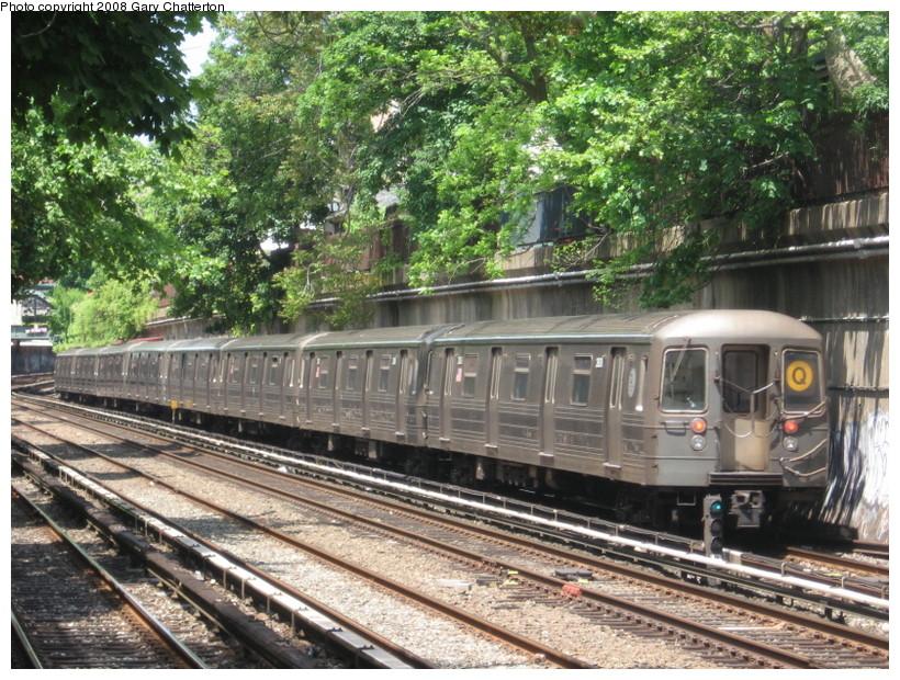 (217k, 820x620)<br><b>Country:</b> United States<br><b>City:</b> New York<br><b>System:</b> New York City Transit<br><b>Line:</b> BMT Brighton Line<br><b>Location:</b> Cortelyou Road <br><b>Route:</b> Q<br><b>Car:</b> R-68 (Westinghouse-Amrail, 1986-1988)  2808 <br><b>Photo by:</b> Gary Chatterton<br><b>Date:</b> 5/21/2008<br><b>Viewed (this week/total):</b> 1 / 1752