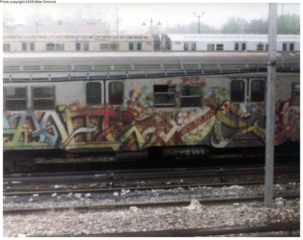 (288k, 1044x829)<br><b>Country:</b> United States<br><b>City:</b> New York<br><b>System:</b> New York City Transit<br><b>Location:</b> Rockaway Parkway (Canarsie) Yard<br><b>Car:</b> R-27 (St. Louis, 1960)   <br><b>Photo by:</b> Mike Ormond<br><b>Notes:</b> 1981 or 1982<br><b>Viewed (this week/total):</b> 0 / 2349