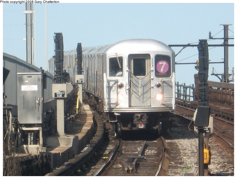 (129k, 820x620)<br><b>Country:</b> United States<br><b>City:</b> New York<br><b>System:</b> New York City Transit<br><b>Line:</b> IRT Flushing Line<br><b>Location:</b> Hunterspoint Avenue <br><b>Route:</b> 7<br><b>Car:</b> R-62A (Bombardier, 1984-1987)  1656 <br><b>Photo by:</b> Gary Chatterton<br><b>Date:</b> 5/13/2008<br><b>Viewed (this week/total):</b> 0 / 1858