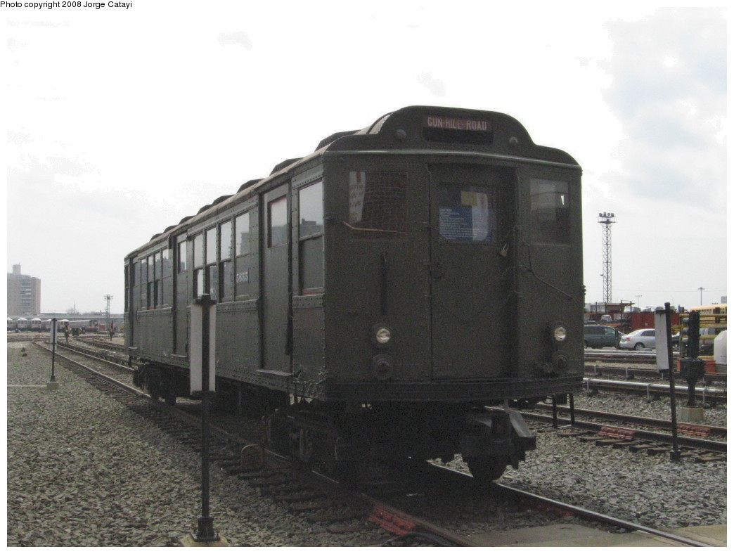 (175k, 1044x788)<br><b>Country:</b> United States<br><b>City:</b> New York<br><b>System:</b> New York City Transit<br><b>Location:</b> Coney Island Yard<br><b>Car:</b> Low-V Worlds Fair 5655 <br><b>Photo by:</b> Jorge Catayi<br><b>Date:</b> 4/12/2008<br><b>Viewed (this week/total):</b> 0 / 1629