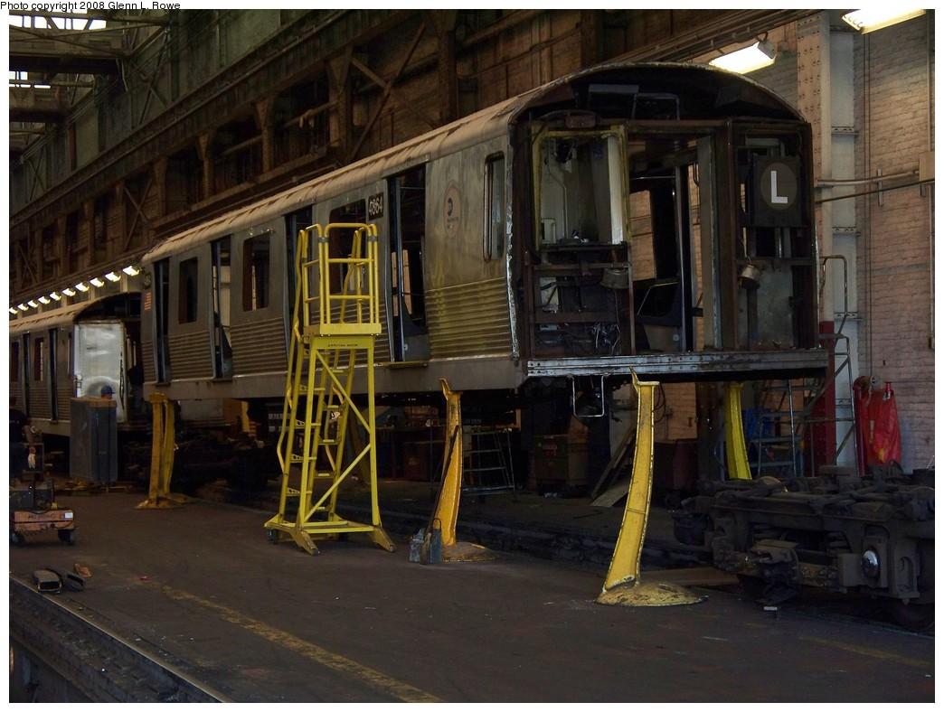 (220k, 1044x788)<br><b>Country:</b> United States<br><b>City:</b> New York<br><b>System:</b> New York City Transit<br><b>Location:</b> 207th Street Yard<br><b>Car:</b> R-42 (St. Louis, 1969-1970)  4864 <br><b>Photo by:</b> Glenn L. Rowe<br><b>Date:</b> 5/28/2008<br><b>Viewed (this week/total):</b> 3 / 1414