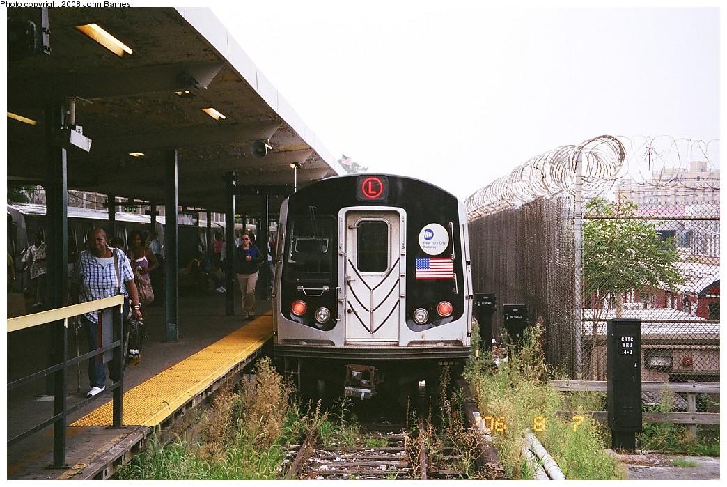 (271k, 1044x699)<br><b>Country:</b> United States<br><b>City:</b> New York<br><b>System:</b> New York City Transit<br><b>Line:</b> BMT Canarsie Line<br><b>Location:</b> Rockaway Parkway <br><b>Route:</b> L<br><b>Car:</b> R-143 (Kawasaki, 2001-2002) 8117 <br><b>Photo by:</b> John Barnes<br><b>Date:</b> 8/6/2006<br><b>Viewed (this week/total):</b> 2 / 1996