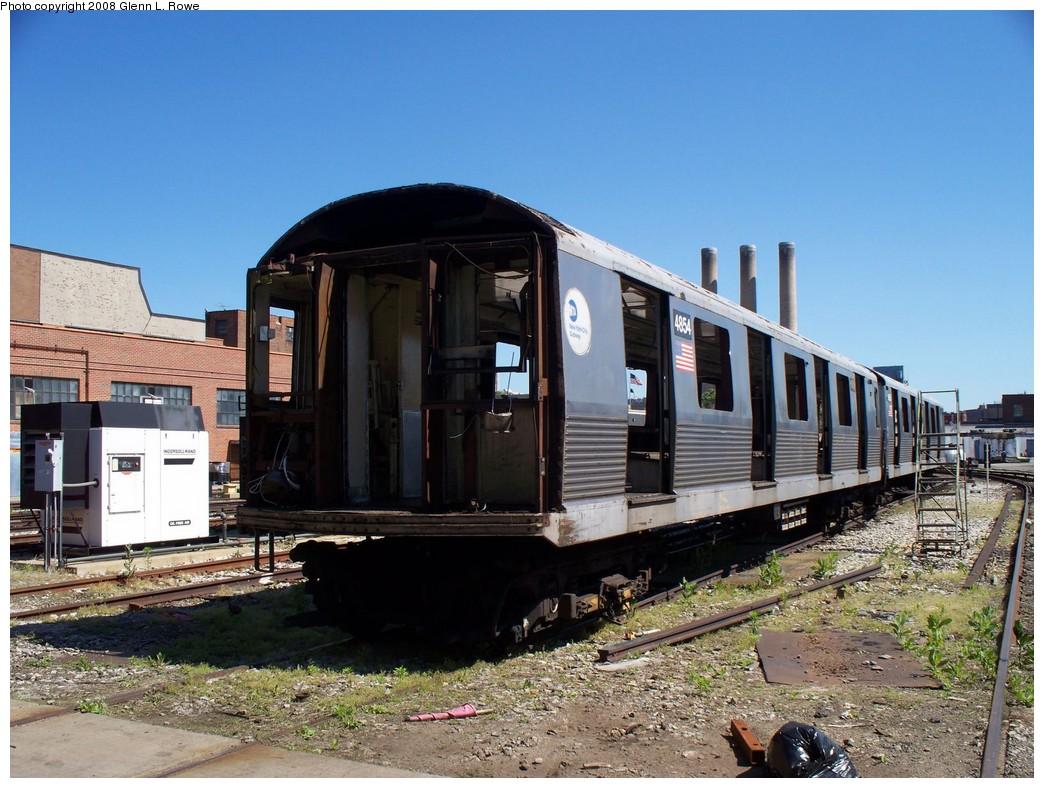 (238k, 1044x788)<br><b>Country:</b> United States<br><b>City:</b> New York<br><b>System:</b> New York City Transit<br><b>Location:</b> 207th Street Yard<br><b>Car:</b> R-42 (St. Louis, 1969-1970)  4854 <br><b>Photo by:</b> Glenn L. Rowe<br><b>Date:</b> 5/29/2008<br><b>Viewed (this week/total):</b> 1 / 1235