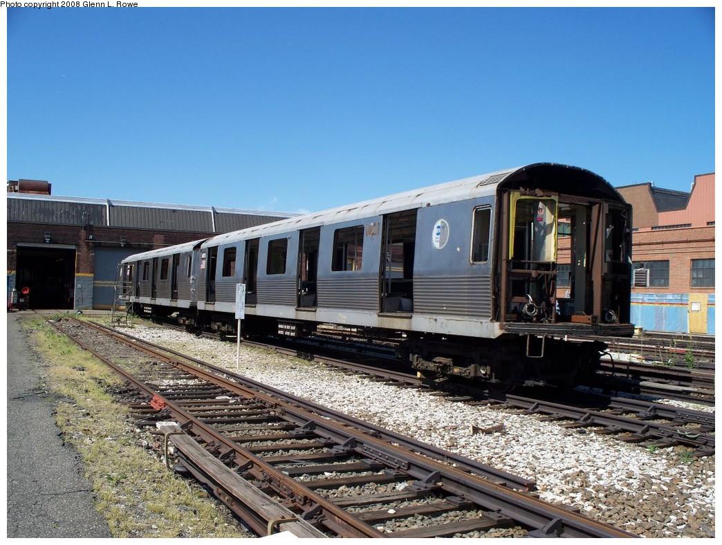 (267k, 1044x788)<br><b>Country:</b> United States<br><b>City:</b> New York<br><b>System:</b> New York City Transit<br><b>Location:</b> 207th Street Yard<br><b>Car:</b> R-42 (St. Louis, 1969-1970)  4855 <br><b>Photo by:</b> Glenn L. Rowe<br><b>Date:</b> 5/29/2008<br><b>Viewed (this week/total):</b> 4 / 1197