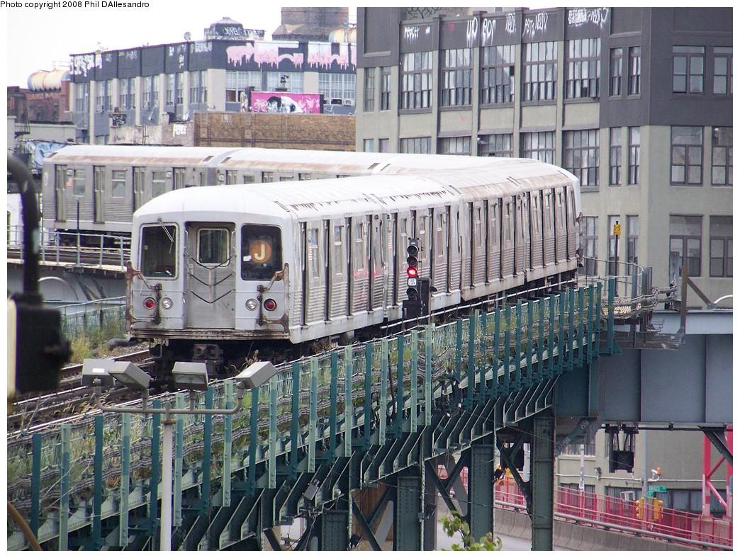 (309k, 1044x788)<br><b>Country:</b> United States<br><b>City:</b> New York<br><b>System:</b> New York City Transit<br><b>Line:</b> BMT Nassau Street/Jamaica Line<br><b>Location:</b> Marcy Avenue <br><b>Route:</b> J<br><b>Car:</b> R-42 (St. Louis, 1969-1970)  4883 <br><b>Photo by:</b> Philip D'Allesandro<br><b>Date:</b> 9/14/2007<br><b>Viewed (this week/total):</b> 0 / 1398