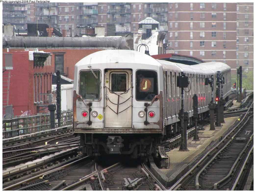 (277k, 1044x788)<br><b>Country:</b> United States<br><b>City:</b> New York<br><b>System:</b> New York City Transit<br><b>Line:</b> BMT Nassau Street-Jamaica Line<br><b>Location:</b> Marcy Avenue<br><b>Route:</b> J<br><b>Car:</b> R-42 (St. Louis, 1969-1970) 4830 <br><b>Photo by:</b> Paul Ferbrache<br><b>Date:</b> 5/1/2008<br><b>Viewed (this week/total):</b> 4 / 4783