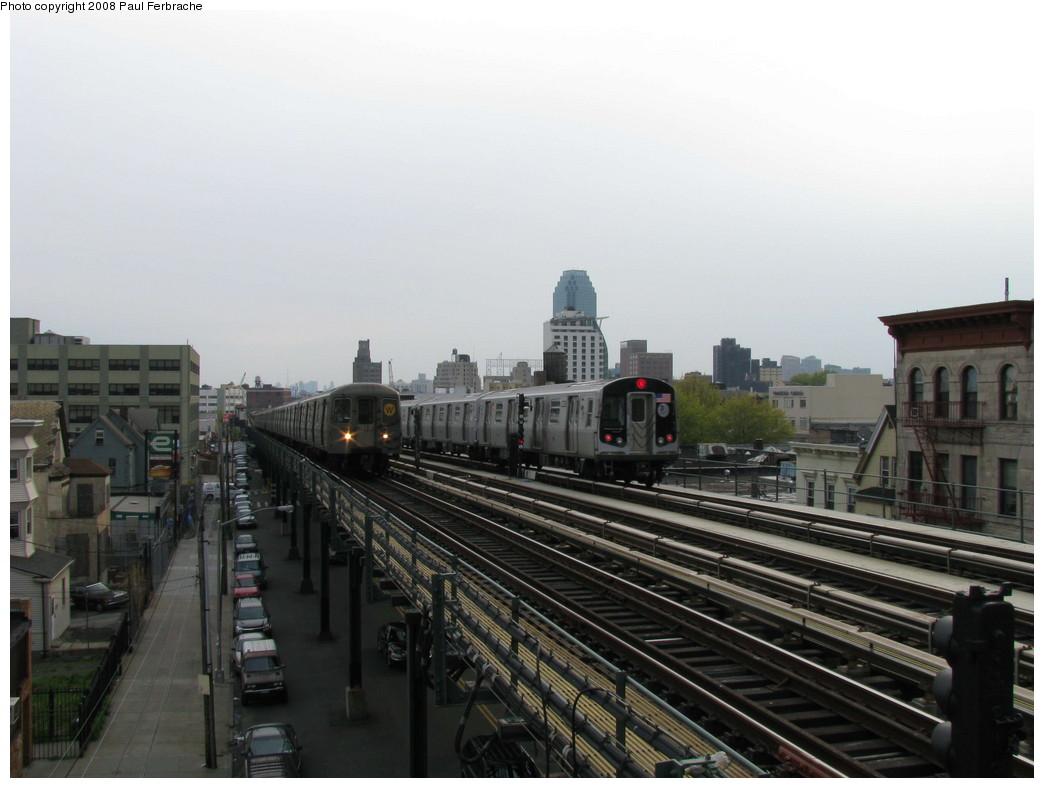 (172k, 1044x788)<br><b>Country:</b> United States<br><b>City:</b> New York<br><b>System:</b> New York City Transit<br><b>Line:</b> BMT Astoria Line<br><b>Location:</b> 36th/Washington Aves. <br><b>Route:</b> N<br><b>Car:</b> R-160B (Kawasaki, 2005-2008)  8853 <br><b>Photo by:</b> Paul Ferbrache<br><b>Date:</b> 5/1/2008<br><b>Viewed (this week/total):</b> 0 / 2432