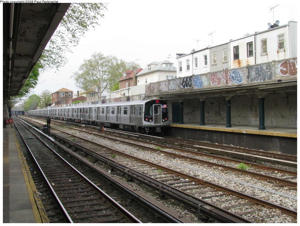 (281k, 1044x788)<br><b>Country:</b> United States<br><b>City:</b> New York<br><b>System:</b> New York City Transit<br><b>Line:</b> BMT Sea Beach Line<br><b>Location:</b> 86th Street <br><b>Route:</b> N<br><b>Car:</b> R-160B (Kawasaki, 2005-2008)  8942 <br><b>Photo by:</b> Paul Ferbrache<br><b>Date:</b> 5/2/2008<br><b>Viewed (this week/total):</b> 0 / 1387