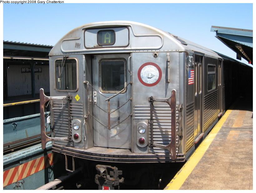 (142k, 820x620)<br><b>Country:</b> United States<br><b>City:</b> New York<br><b>System:</b> New York City Transit<br><b>Line:</b> IND Fulton Street Line<br><b>Location:</b> 80th Street/Hudson Street <br><b>Route:</b> A<br><b>Car:</b> R-38 (St. Louis, 1966-1967)  3974 <br><b>Photo by:</b> Gary Chatterton<br><b>Date:</b> 5/28/2008<br><b>Viewed (this week/total):</b> 0 / 1932