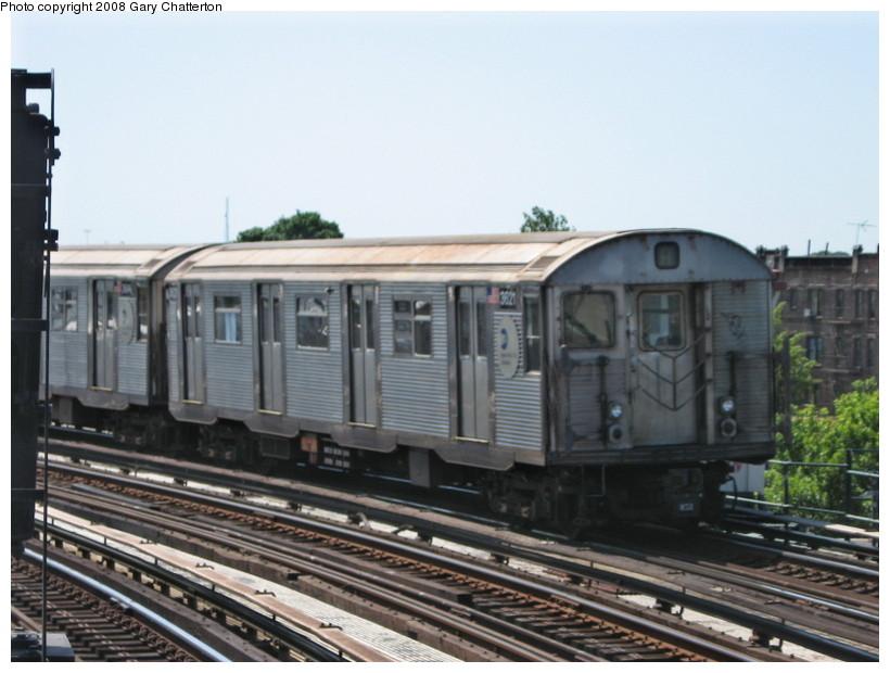 (123k, 820x620)<br><b>Country:</b> United States<br><b>City:</b> New York<br><b>System:</b> New York City Transit<br><b>Line:</b> IND Fulton Street Line<br><b>Location:</b> 80th Street/Hudson Street <br><b>Route:</b> A<br><b>Car:</b> R-32 (Budd, 1964)  3621 <br><b>Photo by:</b> Gary Chatterton<br><b>Date:</b> 5/28/2008<br><b>Viewed (this week/total):</b> 0 / 1574