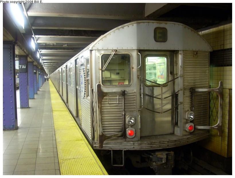 (153k, 820x620)<br><b>Country:</b> United States<br><b>City:</b> New York<br><b>System:</b> New York City Transit<br><b>Line:</b> IND Queens Boulevard Line<br><b>Location:</b> 7th Avenue/53rd Street <br><b>Route:</b> E<br><b>Car:</b> R-32 (Budd, 1964)  3816 <br><b>Photo by:</b> Bill E.<br><b>Date:</b> 6/1/2008<br><b>Viewed (this week/total):</b> 0 / 2048