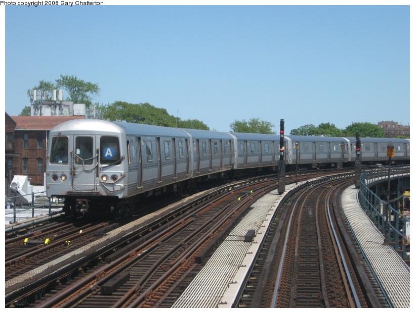 (143k, 820x620)<br><b>Country:</b> United States<br><b>City:</b> New York<br><b>System:</b> New York City Transit<br><b>Line:</b> IND Fulton Street Line<br><b>Location:</b> 111th Street/Greenwood Avenue <br><b>Route:</b> A<br><b>Car:</b> R-44 (St. Louis, 1971-73) 5222 <br><b>Photo by:</b> Gary Chatterton<br><b>Date:</b> 5/28/2008<br><b>Viewed (this week/total):</b> 1 / 2197