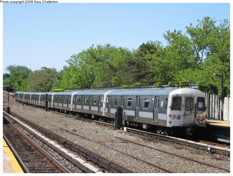(189k, 820x620)<br><b>Country:</b> United States<br><b>City:</b> New York<br><b>System:</b> New York City Transit<br><b>Line:</b> IND Rockaway<br><b>Location:</b> Aqueduct/North Conduit Avenue <br><b>Route:</b> A<br><b>Car:</b> R-44 (St. Louis, 1971-73) 5364 <br><b>Photo by:</b> Gary Chatterton<br><b>Date:</b> 5/28/2008<br><b>Viewed (this week/total):</b> 1 / 1609