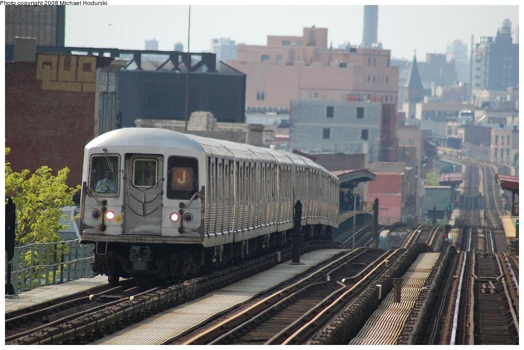 (225k, 1044x699)<br><b>Country:</b> United States<br><b>City:</b> New York<br><b>System:</b> New York City Transit<br><b>Line:</b> BMT Nassau Street/Jamaica Line<br><b>Location:</b> Myrtle Avenue <br><b>Route:</b> J<br><b>Car:</b> R-42 (St. Louis, 1969-1970)  4701 <br><b>Photo by:</b> Michael Hodurski<br><b>Date:</b> 5/3/2008<br><b>Viewed (this week/total):</b> 2 / 1758