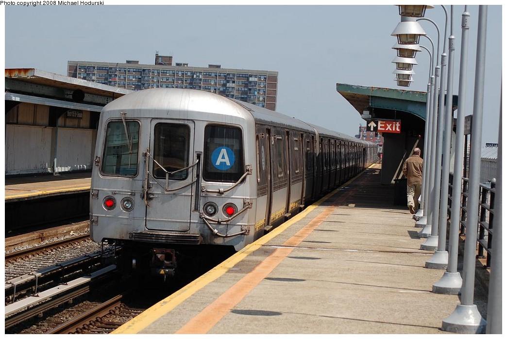 (231k, 1044x699)<br><b>Country:</b> United States<br><b>City:</b> New York<br><b>System:</b> New York City Transit<br><b>Line:</b> IND Rockaway<br><b>Location:</b> Beach 105th Street/Seaside <br><b>Route:</b> A<br><b>Car:</b> R-44 (St. Louis, 1971-73) 5214 <br><b>Photo by:</b> Michael Hodurski<br><b>Date:</b> 5/3/2008<br><b>Viewed (this week/total):</b> 0 / 1658