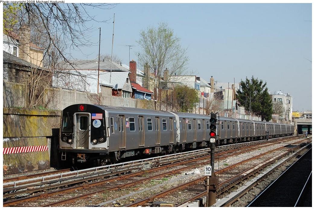 (335k, 1044x699)<br><b>Country:</b> United States<br><b>City:</b> New York<br><b>System:</b> New York City Transit<br><b>Line:</b> BMT Sea Beach Line<br><b>Location:</b> 86th Street <br><b>Route:</b> N<br><b>Car:</b> R-160B (Kawasaki, 2005-2008)  8812 <br><b>Photo by:</b> Michael Hodurski<br><b>Date:</b> 4/18/2008<br><b>Viewed (this week/total):</b> 2 / 1390