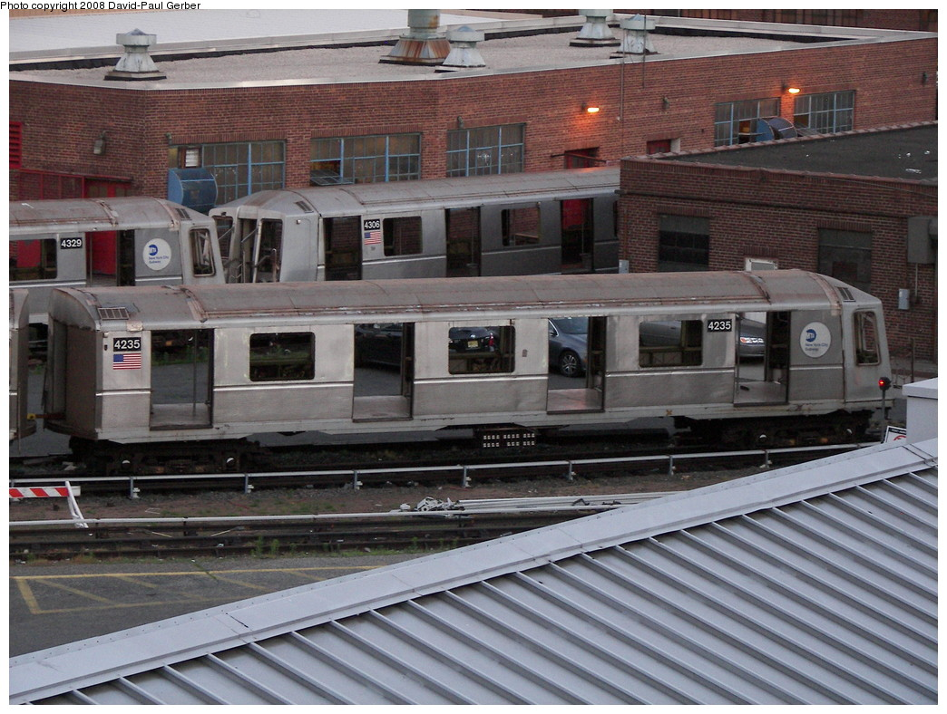 (303k, 1044x788)<br><b>Country:</b> United States<br><b>City:</b> New York<br><b>System:</b> New York City Transit<br><b>Location:</b> 207th Street Yard<br><b>Car:</b> R-40 (St. Louis, 1968)  4235 <br><b>Photo by:</b> David-Paul Gerber<br><b>Date:</b> 6/12/2008<br><b>Notes:</b> Scrap<br><b>Viewed (this week/total):</b> 5 / 1664