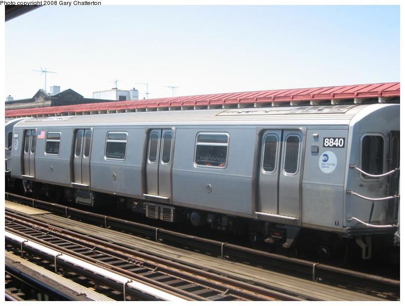 (124k, 820x620)<br><b>Country:</b> United States<br><b>City:</b> New York<br><b>System:</b> New York City Transit<br><b>Line:</b> BMT Astoria Line<br><b>Location:</b> Broadway <br><b>Route:</b> N<br><b>Car:</b> R-160B (Kawasaki, 2005-2008)  8840 <br><b>Photo by:</b> Gary Chatterton<br><b>Date:</b> 6/12/2008<br><b>Viewed (this week/total):</b> 0 / 1689