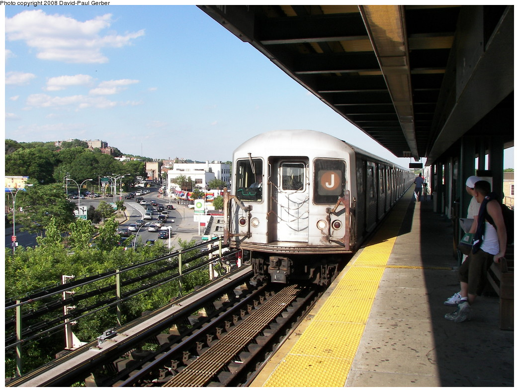 (317k, 1044x788)<br><b>Country:</b> United States<br><b>City:</b> New York<br><b>System:</b> New York City Transit<br><b>Line:</b> BMT Nassau Street/Jamaica Line<br><b>Location:</b> Alabama Avenue <br><b>Route:</b> J<br><b>Car:</b> R-42 (St. Louis, 1969-1970)   <br><b>Photo by:</b> David-Paul Gerber<br><b>Date:</b> 6/11/2008<br><b>Viewed (this week/total):</b> 2 / 1457