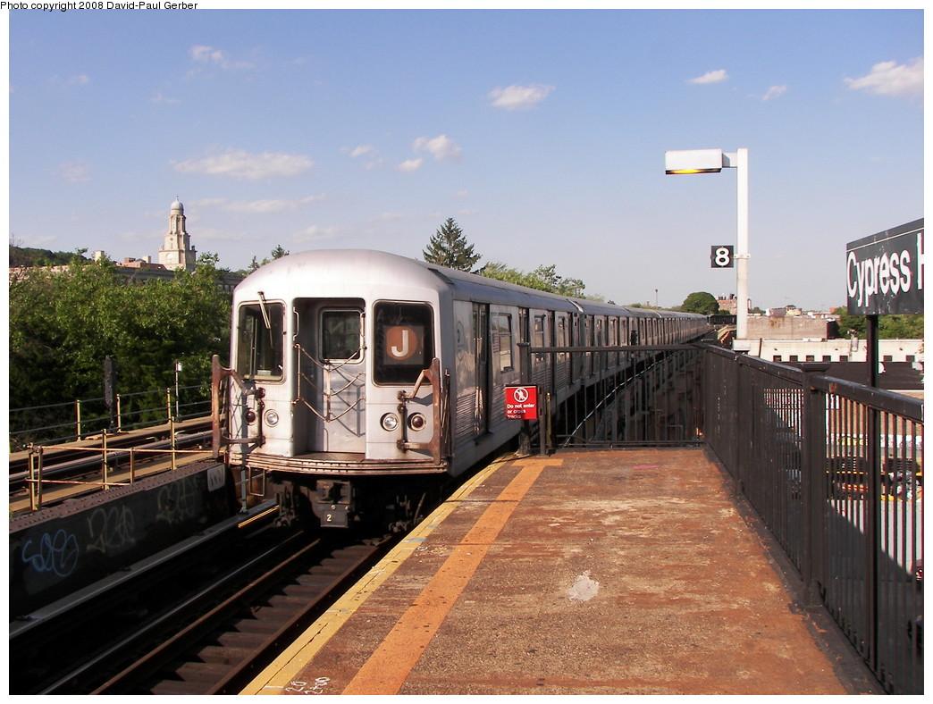 (285k, 1044x788)<br><b>Country:</b> United States<br><b>City:</b> New York<br><b>System:</b> New York City Transit<br><b>Line:</b> BMT Nassau Street/Jamaica Line<br><b>Location:</b> Cypress Hills <br><b>Route:</b> J<br><b>Car:</b> R-42 (St. Louis, 1969-1970)  4687 <br><b>Photo by:</b> David-Paul Gerber<br><b>Date:</b> 6/11/2008<br><b>Viewed (this week/total):</b> 0 / 2159