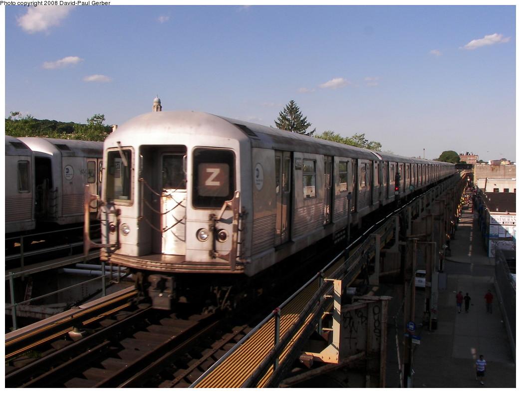 (241k, 1044x788)<br><b>Country:</b> United States<br><b>City:</b> New York<br><b>System:</b> New York City Transit<br><b>Line:</b> BMT Nassau Street/Jamaica Line<br><b>Location:</b> Cypress Hills <br><b>Route:</b> Z<br><b>Car:</b> R-42 (St. Louis, 1969-1970)  4739 <br><b>Photo by:</b> David-Paul Gerber<br><b>Date:</b> 6/11/2008<br><b>Viewed (this week/total):</b> 2 / 1934