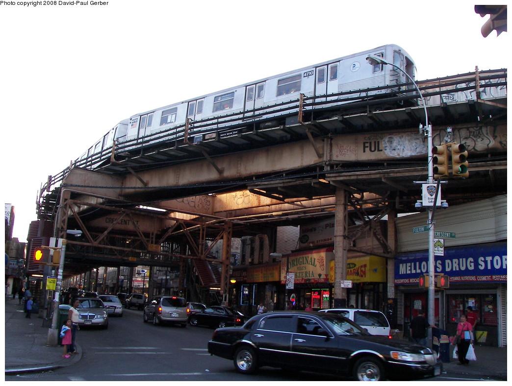 (277k, 1044x788)<br><b>Country:</b> United States<br><b>City:</b> New York<br><b>System:</b> New York City Transit<br><b>Line:</b> BMT Nassau Street/Jamaica Line<br><b>Location:</b> Crescent Street <br><b>Route:</b> J<br><b>Car:</b> R-42 (St. Louis, 1969-1970)  4710 <br><b>Photo by:</b> David-Paul Gerber<br><b>Date:</b> 6/11/2008<br><b>Viewed (this week/total):</b> 0 / 2818