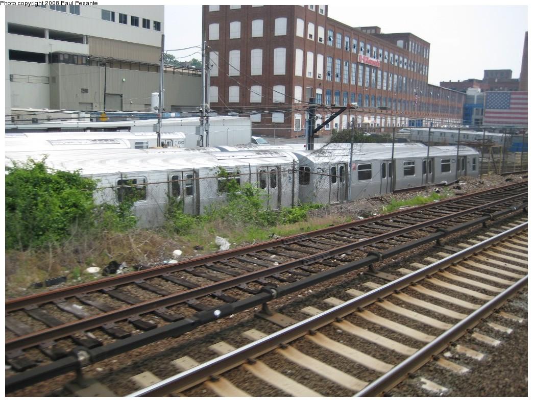 (259k, 1044x788)<br><b>Country:</b> United States<br><b>City:</b> New York<br><b>System:</b> New York City Transit<br><b>Location:</b> Kawasaki Plant, Yonkers, NY<br><b>Car:</b> R-160B (Option 1) (Kawasaki, 2008-2009)  9027 <br><b>Photo by:</b> Paul Pesante<br><b>Date:</b> 6/14/2008<br><b>Viewed (this week/total):</b> 0 / 1592
