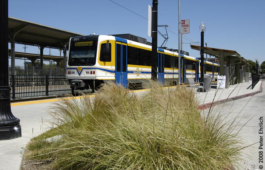 (230k, 864x555)<br><b>Country:</b> United States<br><b>City:</b> Sacramento, CA<br><b>System:</b> SACRT Light Rail<br><b>Location:</b> Sacramento Valley Station (Amtrak) <br><b>Car:</b> Sacramento CAF LRV  223 <br><b>Photo by:</b> Peter Ehrlich<br><b>Date:</b> 5/16/2008<br><b>Viewed (this week/total):</b> 1 / 624