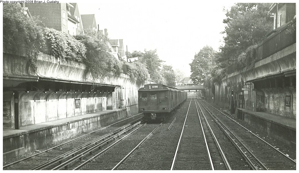 (203k, 1044x606)<br><b>Country:</b> United States<br><b>City:</b> New York<br><b>System:</b> New York City Transit<br><b>Line:</b> BMT Brighton Line<br><b>Location:</b> Beverley Road <br><b>Car:</b> BMT D-Type Triplex  <br><b>Photo by:</b> Brian J. Cudahy<br><b>Date:</b> 1956<br><b>Viewed (this week/total):</b> 1 / 2094