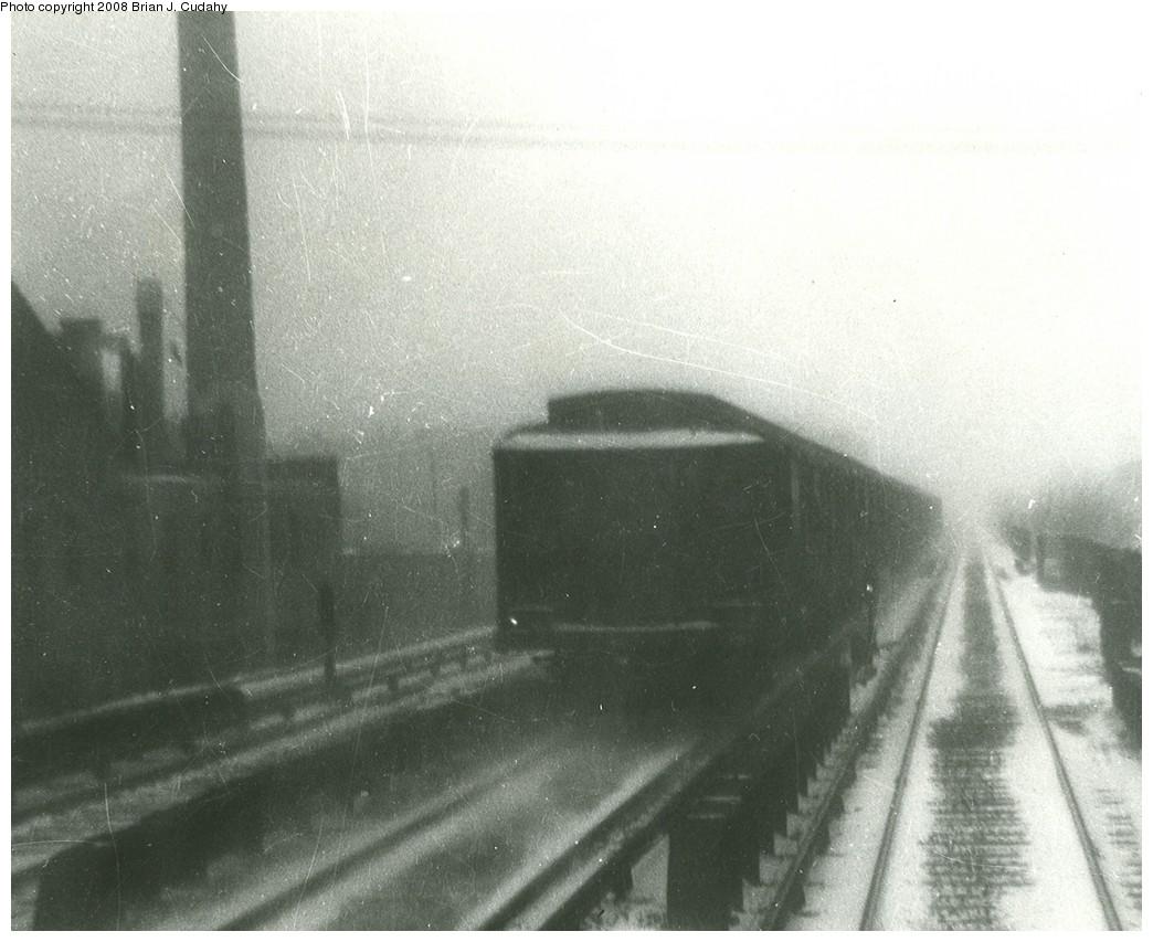 (184k, 1044x853)<br><b>Country:</b> United States<br><b>City:</b> New York<br><b>System:</b> New York City Transit<br><b>Line:</b> BMT Brighton Line<br><b>Location:</b> Avenue M <br><b>Car:</b> BMT D-Type Triplex  <br><b>Photo by:</b> Brian J. Cudahy<br><b>Notes:</b> BMT D units in Brighton Express service.<br><b>Viewed (this week/total):</b> 0 / 1699
