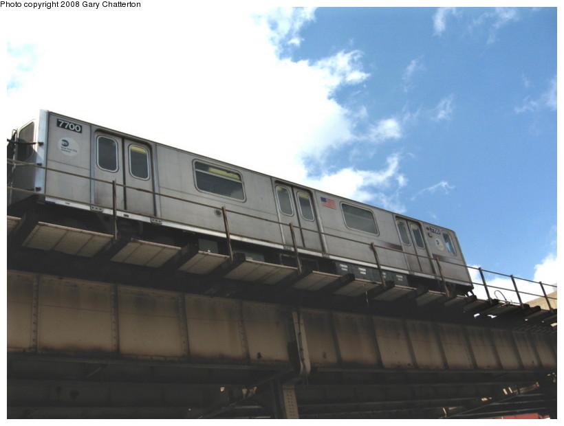 (85k, 820x620)<br><b>Country:</b> United States<br><b>City:</b> New York<br><b>System:</b> New York City Transit<br><b>Line:</b> IRT Woodlawn Line<br><b>Location:</b> 183rd Street <br><b>Route:</b> 4<br><b>Car:</b> R-142A (Option Order, Kawasaki, 2002-2003)  7700 <br><b>Photo by:</b> Gary Chatterton<br><b>Date:</b> 5/4/2008<br><b>Viewed (this week/total):</b> 0 / 1574