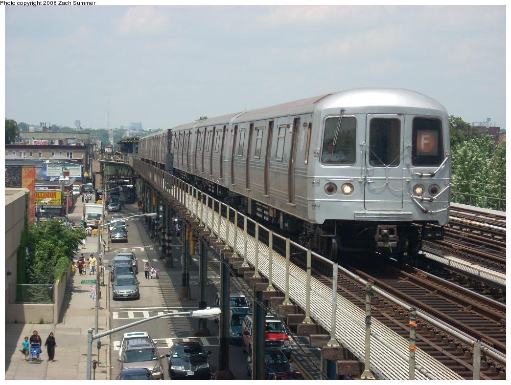 (289k, 1044x788)<br><b>Country:</b> United States<br><b>City:</b> New York<br><b>System:</b> New York City Transit<br><b>Line:</b> BMT Culver Line<br><b>Location:</b> Avenue I <br><b>Route:</b> F<br><b>Car:</b> R-46 (Pullman-Standard, 1974-75)  <br><b>Photo by:</b> Zach Summer<br><b>Date:</b> 6/30/2008<br><b>Viewed (this week/total):</b> 0 / 1844